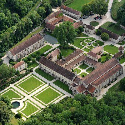Visite de l'abbaye de Fontenay depuis l'Hôtel relais de la Côte-d'Or à Semur-en-Auxois Bourgogne