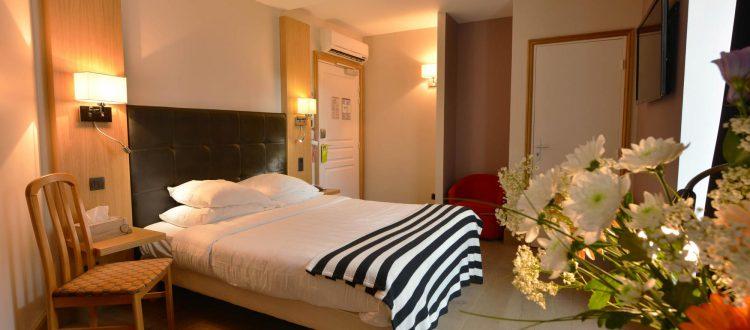 chambre 305 de l'Chambre 402 à l'Hôtel relais de la Côte-d'Or à Semur-en-Auxois Bourgogne