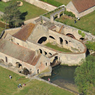 Visite des forges de Buffon depuis l'Hôtel relais de la Côte-d'Or à Semur-en-Auxois Bourgogne