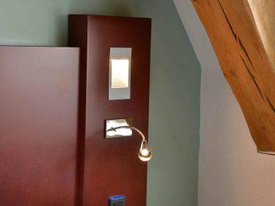 Chambre de l'Chambre 402 à l'Hôtel relais de la Côte-d'Or à Semur-en-Auxois Bourgogne
