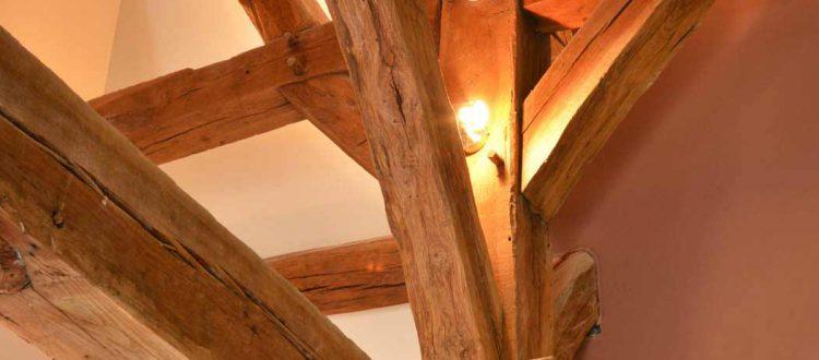 Détail de l'Chambre 402 à l'Hôtel relais de la Côte-d'Or à Semur-en-Auxois Bourgogne