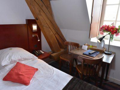 Vue de la chambre 204 hôtel Semur en auxois Bourgogne France