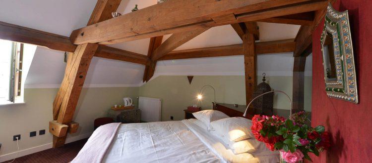 Vue de la chambre 205 Chambre 402 à l'Hôtel relais de la Côte-d'Or à Semur-en-Auxois Bourgogne
