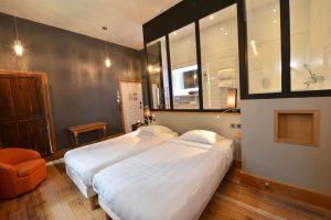 Chambre 401 à l'Chambre 402 à l'Hôtel relais de la Côte-d'Or à Semur-en-Auxois Bourgogne
