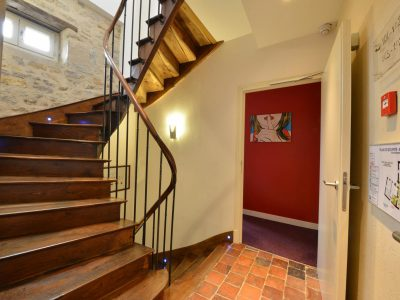 intérieur Hôtel relais de la Côte-d'Or à Semur-en-Auxois Bourgogne